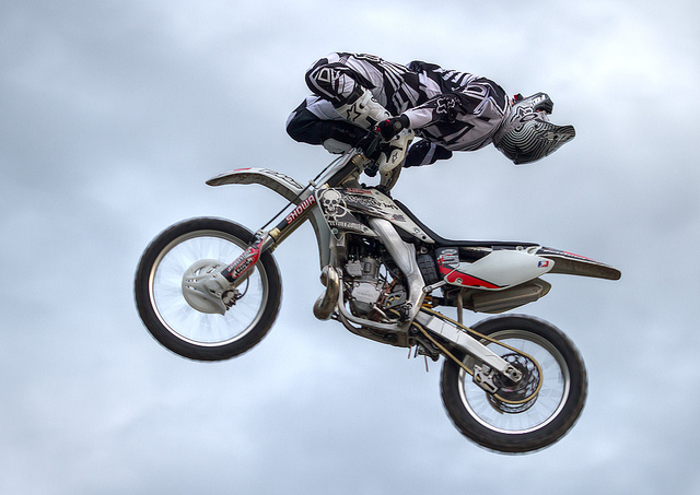 Motorsports FMX action