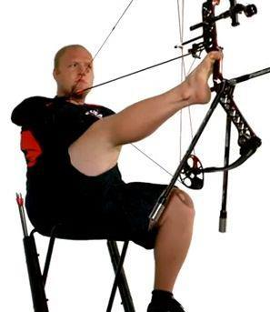 Entertainment Show your support for Mathews Pro Matt Stutzman. Tomorrow marks the first day of competition in the London Paralympic Games for this Inspirational Archer who was born without arms.