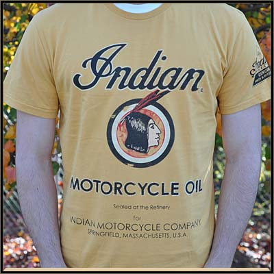 Auto and Cycle OIL CAN TEE