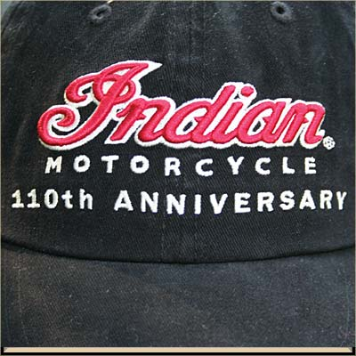 Auto and Cycle INDIAN ANNIVERSARY CAP