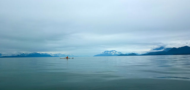 Kayak and Canoe Alaska, US,