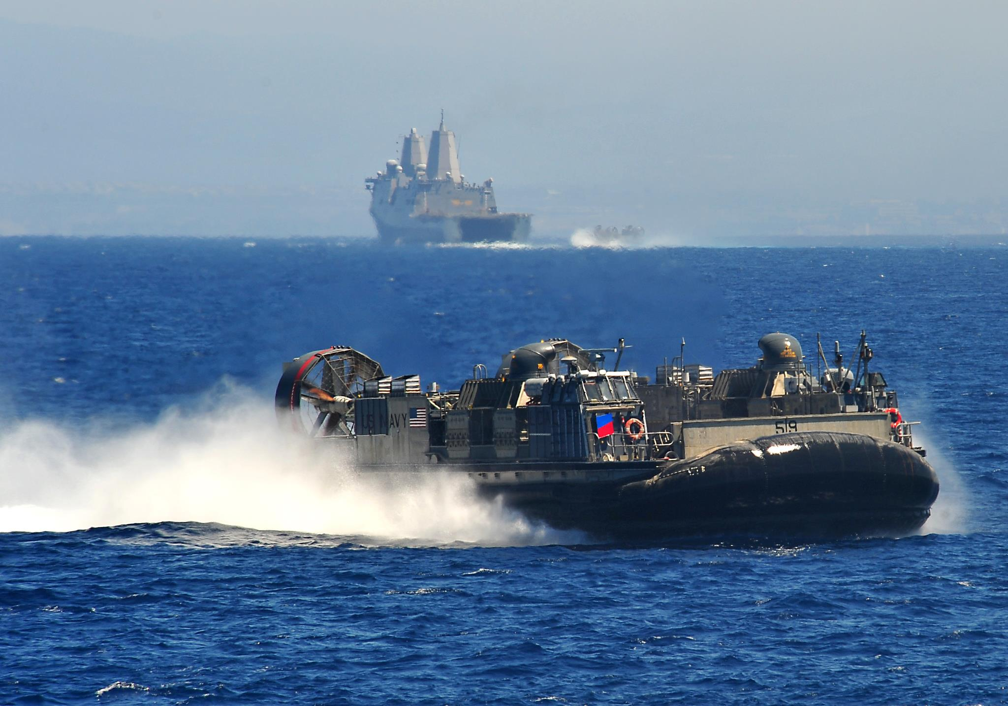 Guns and Military 70% of the Earth's surface is water. Your Navy has it covered.