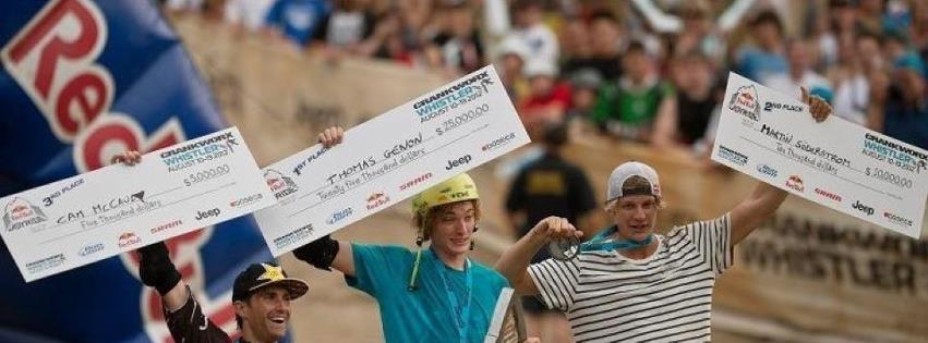 MTB Thomas genon, the only rider to backflip on to the cabin at Red Bull Joyride!