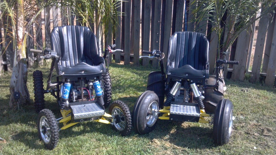 Motorsports Pick your poison......Gas-Powered Wheelchairs