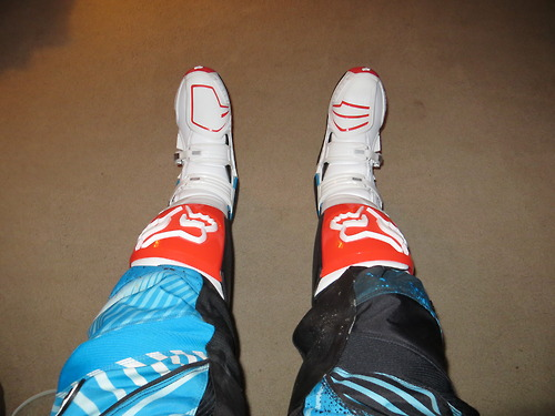 Motorsports My new limited edition Fox Instinct Boots