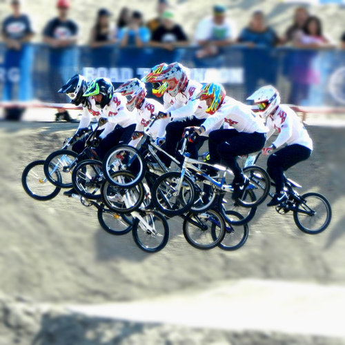 BMX tight race!