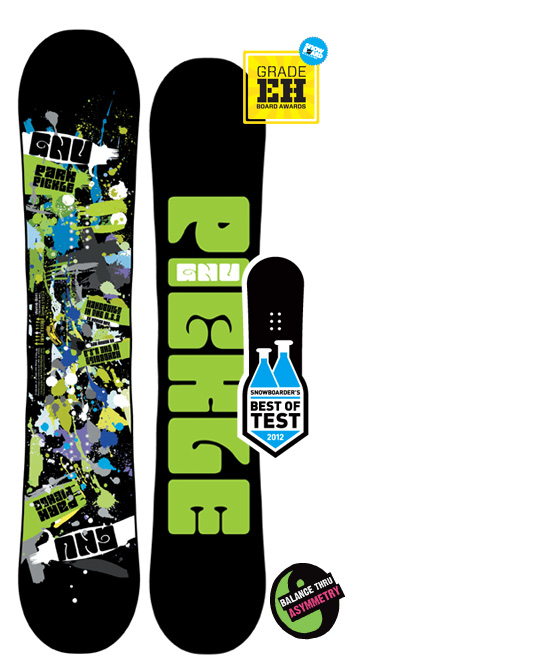 Snowboard GNU Park Pickle   $392.00