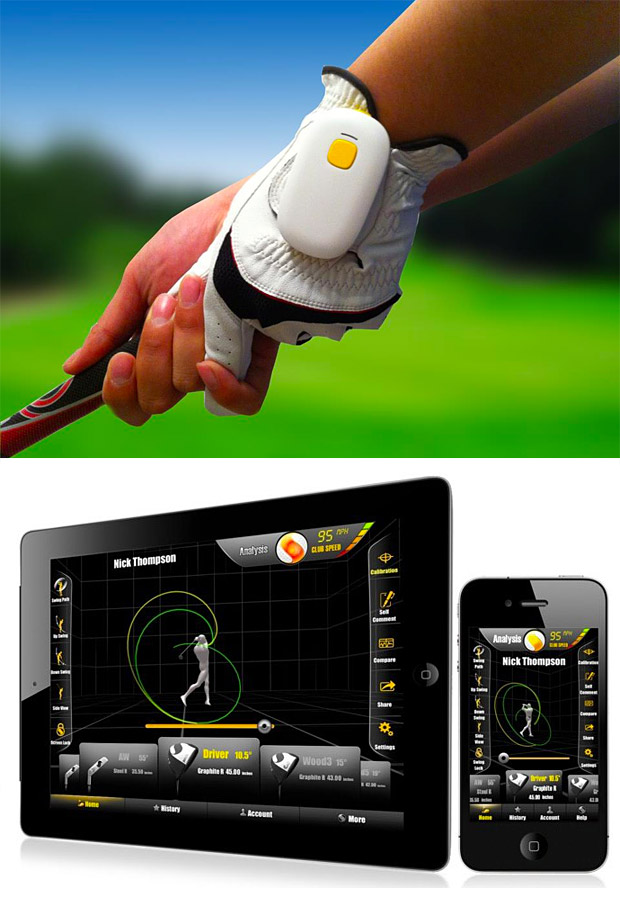 Golf GolfSense 3D Swing Analysis Tool