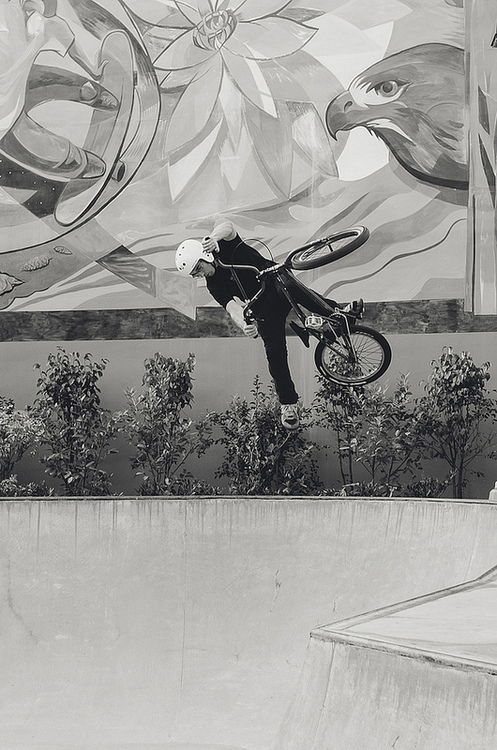 BMX James Van De Kamp - One Footed Table