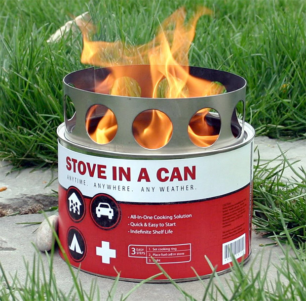 Camp and Hike Stove in a Can   $30