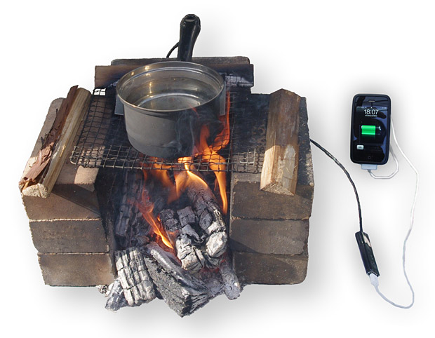 Camp and Hike Boiling Water Pan Charger