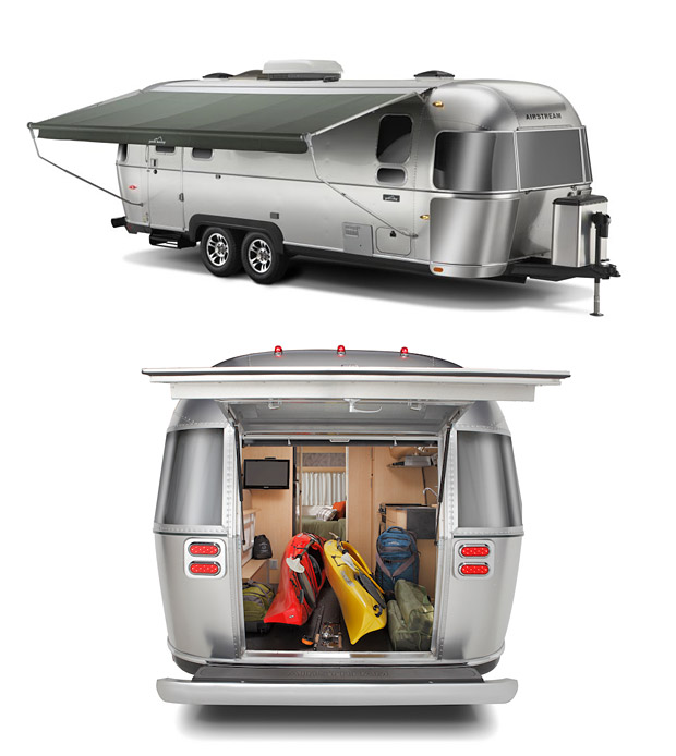 Camp and Hike Eddie Bauer Airstream - going in style, only $73k