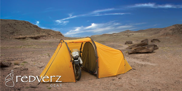Camp and Hike The Series II Expedition Tent - 2 People, 1 Motorbike, Endless Possibilities
