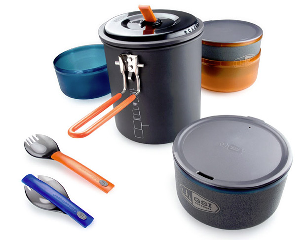 Camp and Hike Halulite Microdualist Camp Cookware  $50