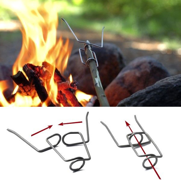 Camp and Hike Grandpa's FireFork   $4