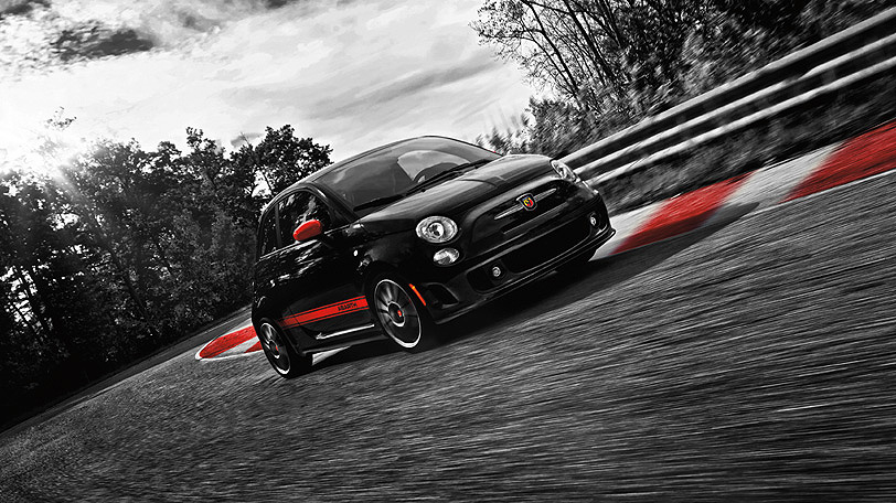 Auto and Cycle Fiat Abarth 500