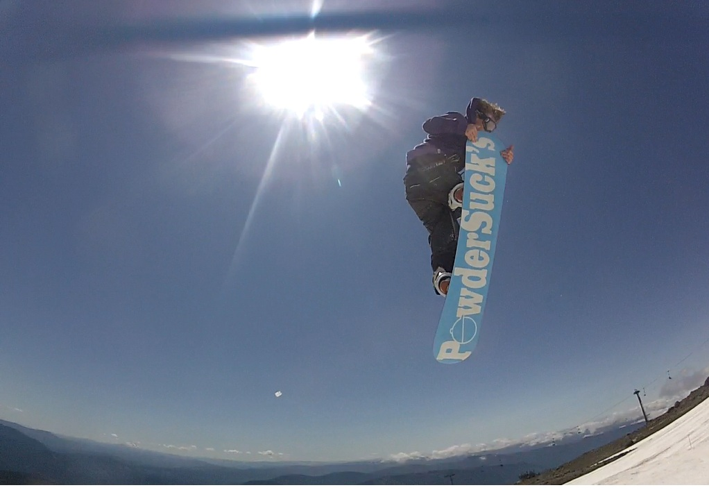 Snowboard Summer at mt hood