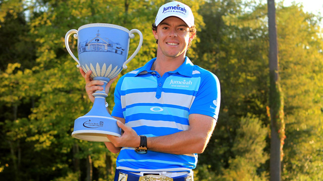 Golf Deutsche Bank Championship - McIlroy wins again.
