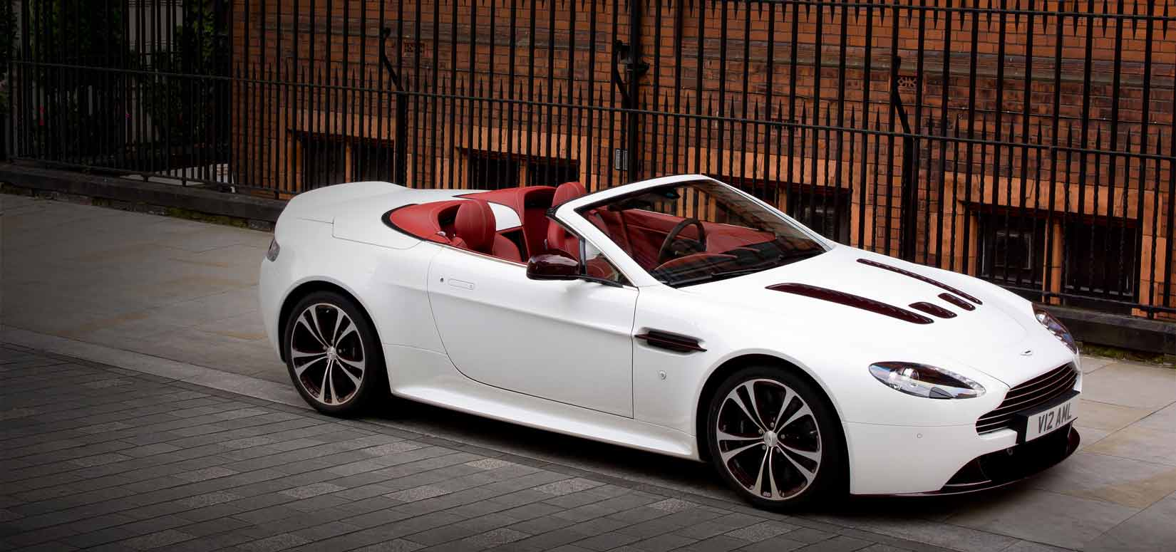 Auto and Cycle ASTON MARTIN V12 VANTAGE ROADSTER about $230k...yikes!