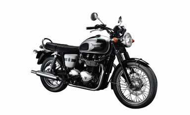 Auto and Cycle TRIUMPH BONNEVILLE T100 110TH ANNIVERSARY EDITION