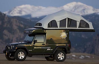 Camp and Hike EarthRoamer XV-JP  You can go anywhere in this rig!