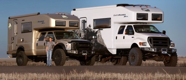 Camp and Hike Crew Cab EarthRoamer XV-LT and Crew Cab EarthRoamer XV-HD