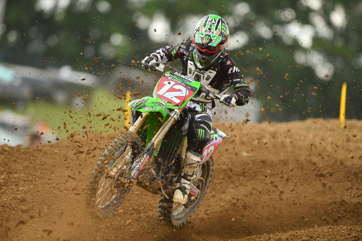 Motorsports Monster Energy's Blake Baggett