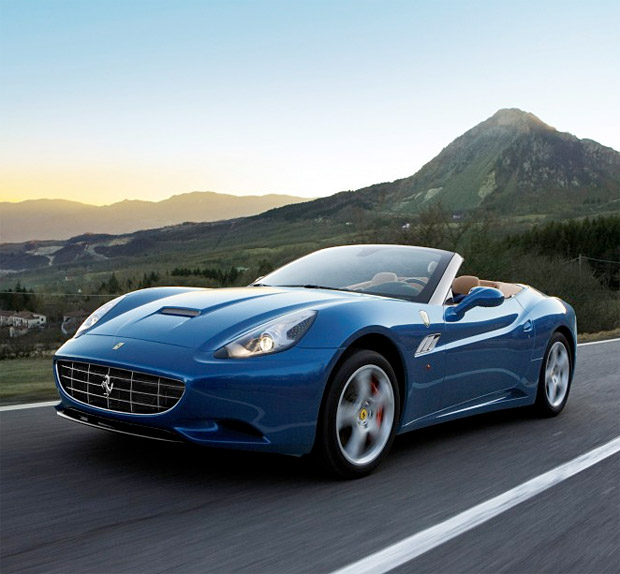 "Auto and Cycle Ferrari California with ""Handling Speciale"" Package"