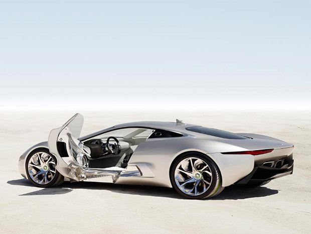 Auto and Cycle Jaguar C-X75 Going To Production