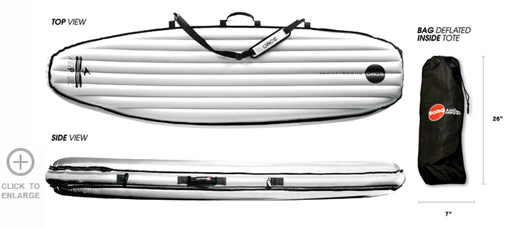 Surf Soma Airbags - Standard Single Carrier $170