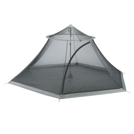 Camp and Hike The Mountain Hardwear Nothing But Net 4 is a lightweight mesh bug shelter. It's great for backpacking, but also functions well at the beach or park, and open-air festivals and events. - $149.93