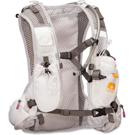 Fitness The Nathan VaporShape Hydration vest provides storage and hydration on the go; it moves in harmony with your shoulder and upper-back movements to reduce wasted energy. - $130.93