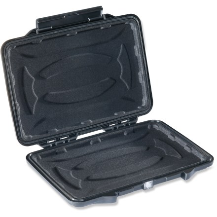 Entertainment The Pelican 1055cc HardBack E-Reader case envelops most popular e-readers and 7 in. tablets in the watertight, crushproof and dustproof armor of proven Pelican protection. Watertight gasket creates a tight seal when the case is shut. Easy-open latch remains shut under pressure or after impact. Automatic purge valve keeps water and dust out while balancing air pressure. The Pelican 1055cc HardBack E-Reader case features a molded, shock-absorbent liner that offers plush protection from impact and scratches. - $29.83