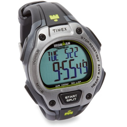 Fitness The Timex Ironman Road Trainer heart rate monitor helps you get the edge on the competition, giving you the necessary data to improve your performance and train smart so you can play hard. - $99.95