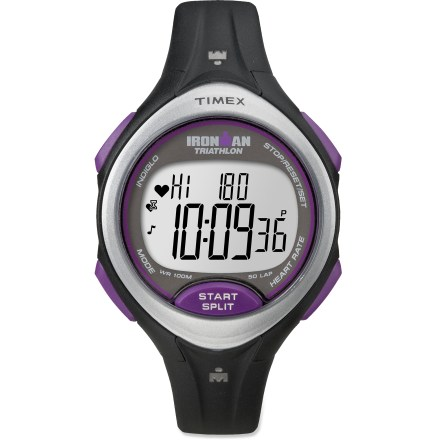 Fitness The women's Timex Ironman Road Trainer heart rate monitor helps you get the edge on the competition, giving you the necessary data to improve your performance, play hard and train smart. - $49.93