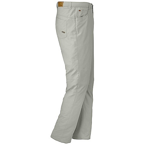 Free Shipping. Outdoor Research Men's Vagabond Pant DECENT FEATURES of the Outdoor Research Men's Vagabond Pant Quick Drying Breathable Durable Belt Loops Snap and Zipper Fly Low-Profile Waist Fits Under Harness Front Slash Pockets Back Patch Pockets Articulated Knees The SPECS Weight: (L): 10.9 oz / 310 g Fit: Standard Inseam: 32in. / 81 cm 68% cotton / 32% nylon This product can only be shipped within the United States. Please don't hate us. - $74.95