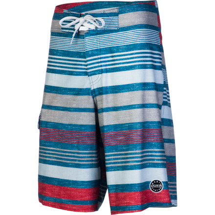 Surf When it's you versus the wave, make sure you come out on top with the Ezekiel Triumph Men's Board Short. It's made with a stretchy polyester and spandex fabric for greater range of motion when you're shredding sweet swells on your surfboard. - $61.95