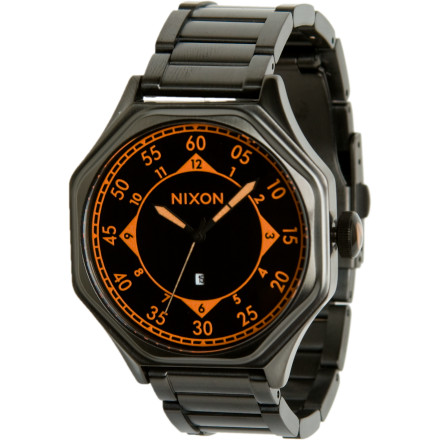 Camp and Hike Clean and cool with a maturity that is more champagne then beer and more cigar than cig, the Nixon Mens Falcon watch combines grownup function and classic style. Its a look that says, You theredont just stand there. Go get me something, and be quick about it. - $113.72