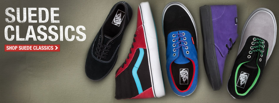 Skateboard Suede Classics from Vans