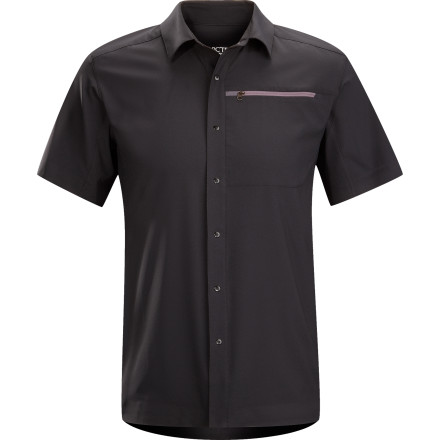Camp and Hike Just because your stuck in the office all day doesn't mean you can't be ready for adventure; the Arc'teryx Men's Skyline Short-Sleeve Shirt puts high-performance fabric into a professional package so you're prepped for anything. Button up in this shirt when you plan on skipping your afternoon meetings for an afternoon hike. You'll get more done thinking in peace than you'd ever accomplish in some meeting. - $98.95