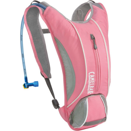 Fitness If you plan on hitting the trails this afternoon take the CamelBak Annadel Hydration Pack to help keep you hydrated and moving. This womens-specific, low-profile pack carries 1.5-liters of water inside an insulated reservoir pocket and holds your keys, wallet, energy bars, and small essentials in a front zippered pocket. The Antidote reservoir features an ergonomic bite valve that has a quick-snap cap that tightens in just a quarter of turn to eliminate any water leakage. CamelBak also included an air channel back panel and cushy shoulder straps for comfort when you dash or sprint up the trail. - $38.47