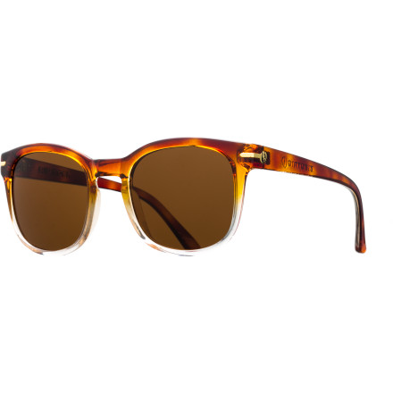 Camp and Hike The Electric Rip Rock Sunglasses' clean lines and classic retro style work equally well for both sexes. - $109.95