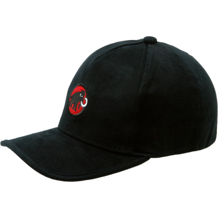 Sports When the road to the rock is lit you need the Mammut Baseball Hat to help you see. If you don't wear it, those sunspots may play tricks on your eyes and that means missed holds and bad decisions. - $19.95