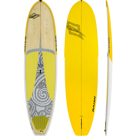 Surf Whether you're a beginner or a seasoned vet, the Naish Nalu Series Wood Stand-Up Paddleboard cruises flat to small surf like a champ and gives high-performance wave riders something to talk about. Thanks to its volume-to-width ratio, the Wood is an ideal beginner board for lighter riders, and thanks to its longboard-esque personality traits, this board offers smooth and powerful turns for riders looking to up their performance. - $1,799.06