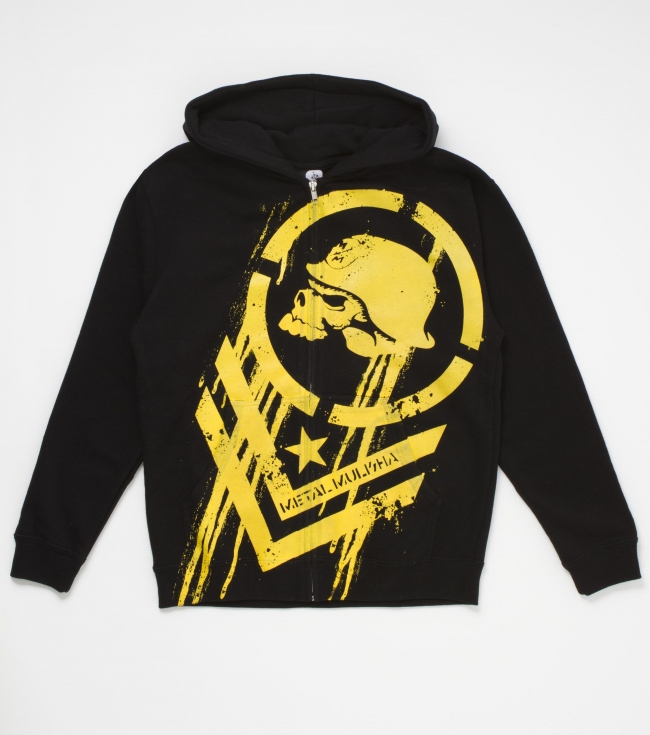 Motorsports Metal Mulisha boys cotton/poly zip up fleece with large front screenprint. - $24.99