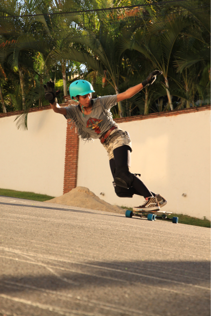 Skateboard Morning everyone! Check this steezy toeside from Carla Javier! Have a great day!  Pic by: Catherine Goico