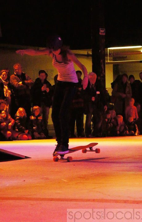 Skateboard Longboard dance was honored in Eindhoven, The Netherlands, the 17th of February during the first edition of 'So You Think You Can Longboard Dance?' An event organized by Spots and Locals. Check out the article with all the details! http://longboardgirlscr
