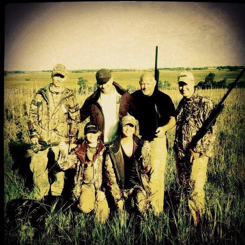 Hunting Even though we didn't see a ton of doves, we still got some and had so much fun hunting this morning.