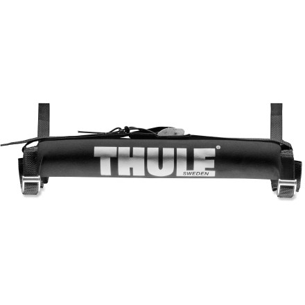 Camp and Hike The Thule Tailgate Pad lets you load your surfboard and stand up paddleboard safely into your truck bed. - $34.95