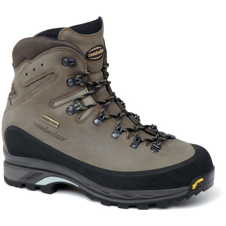 Camp and Hike The Zamberlan 960 Guide GT RR hiking boots feature Gore-Tex(R) waterproof, breathable linings for superior moisture protection during extended backpacking trips. - $340.00
